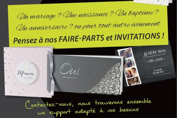 faire-parts et invitations